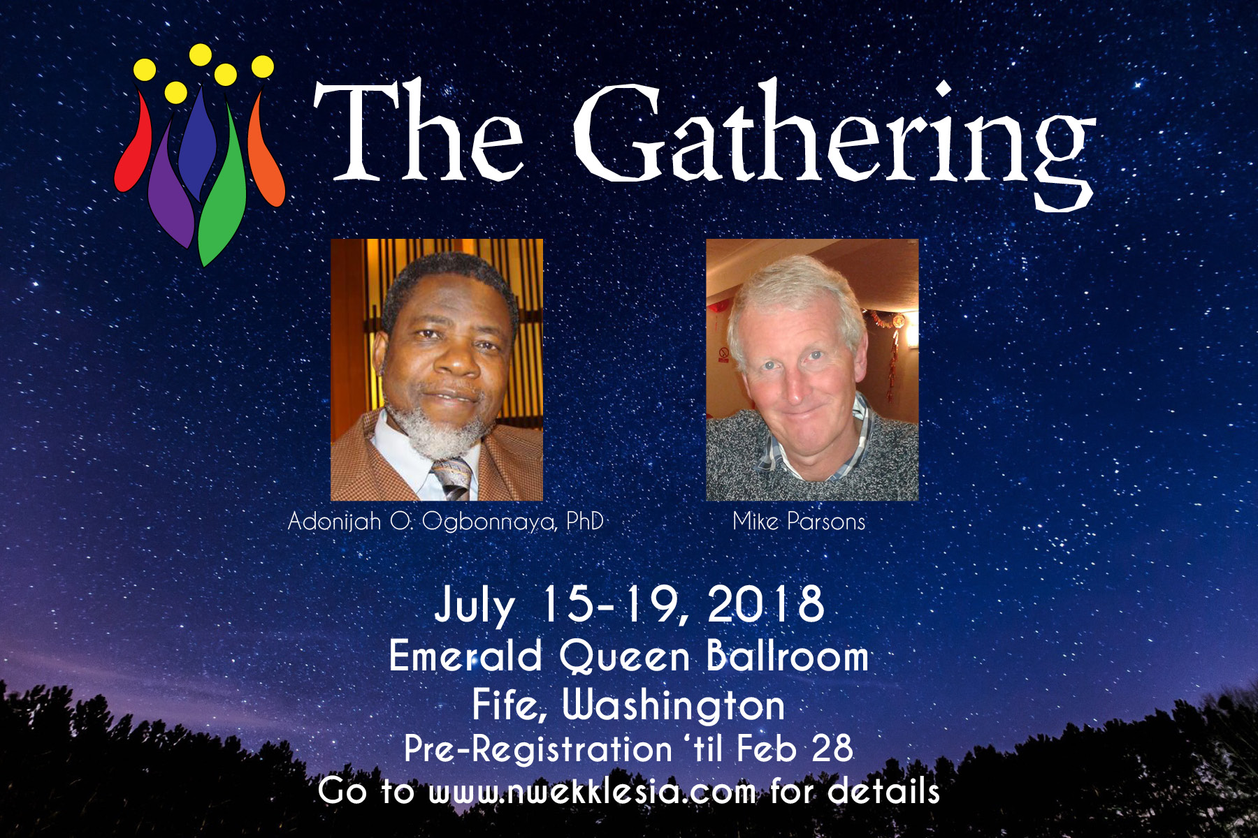 Register now for The Gathering!